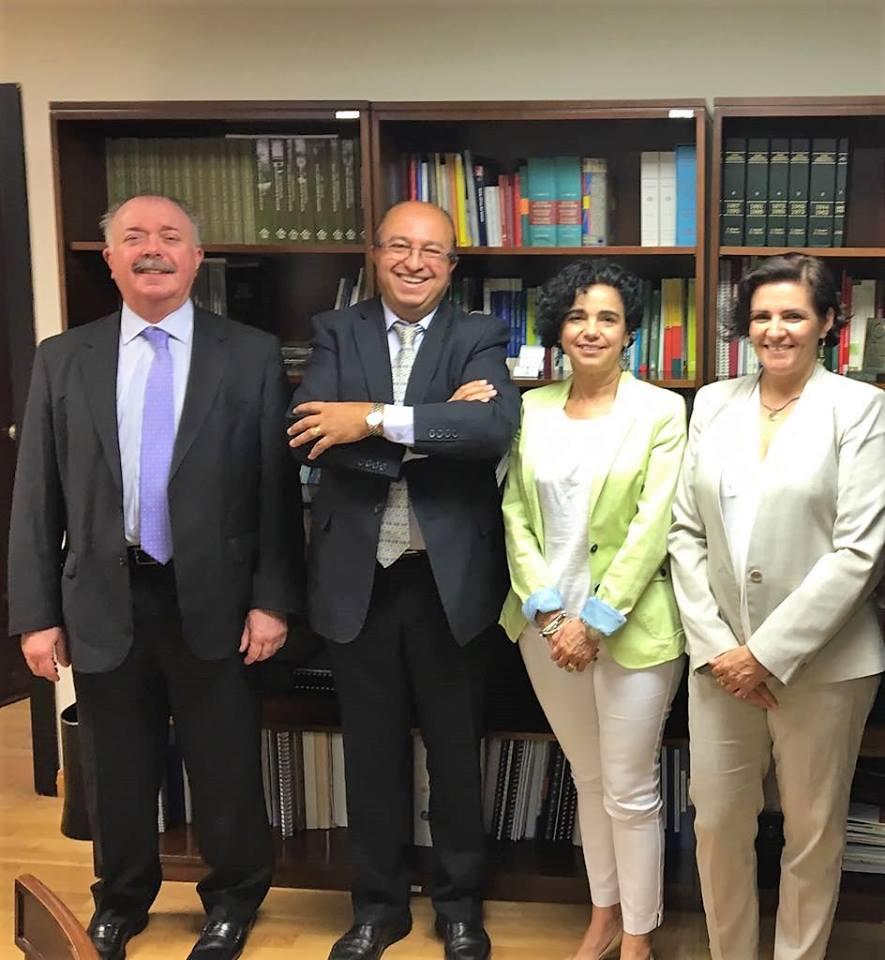 Reunión de Asedef con Dña Encarnacion Cruz, Directora General de Cartera Básica de Servicios SNS y Farmacia