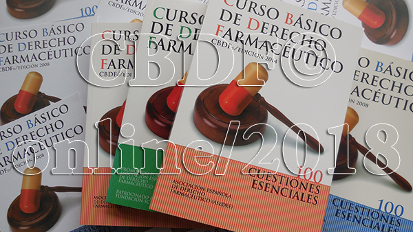 Curso Básico de Derecho Farmacéutico  CBDF©/online 2018